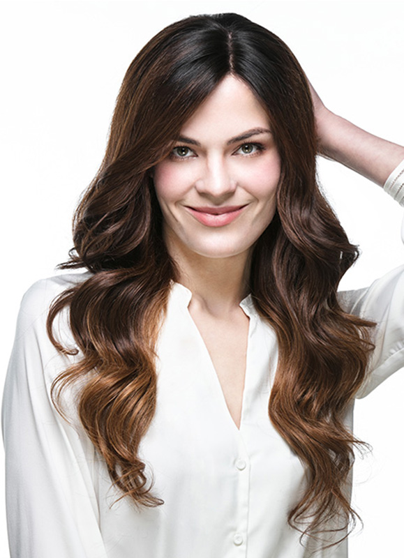 Angelina Luscious Long Wavy Indian Hair Wig EFW001