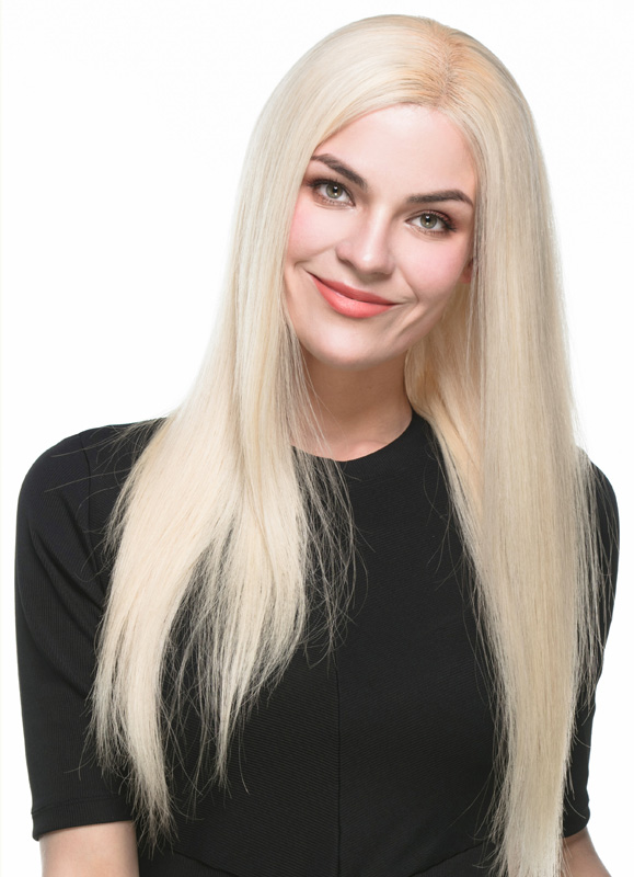 Nastasia Long Straight European Hair Wig EES002