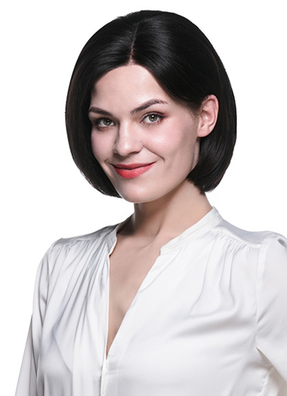 Mia Short Chic Bob Indian Hair Wig EFB003